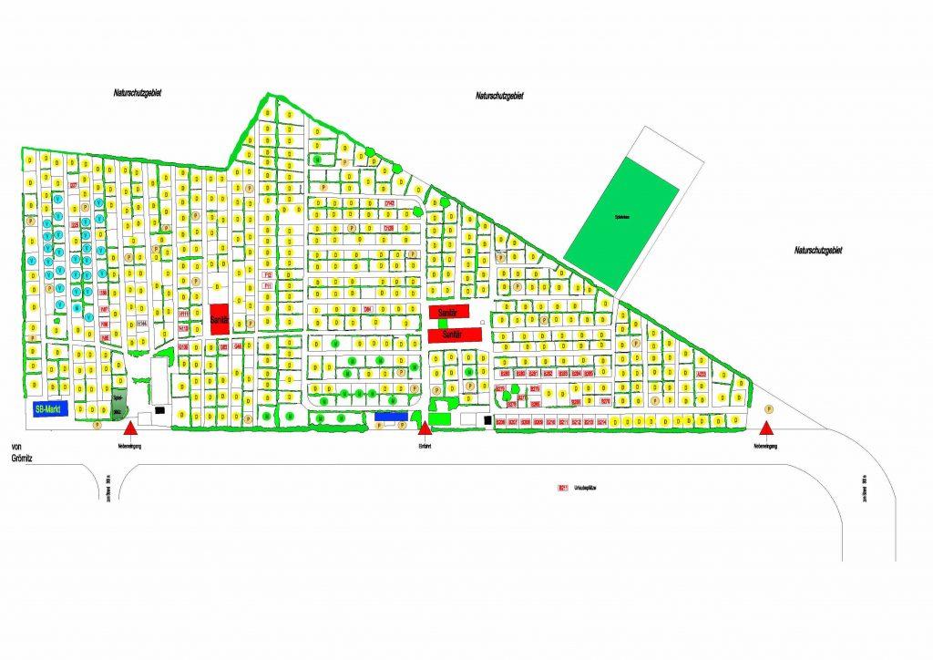 Lageplan Campingplatz Porta del Sol 2015